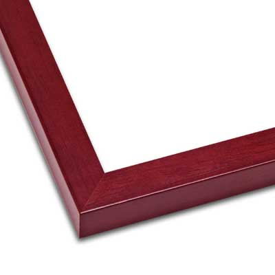 Profile 1 Wood Frame Mahogany