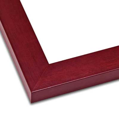 Profile 2 Wood Frame Mahogany