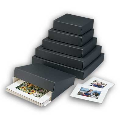 Lineco® Museum Quality Drop-front Storage Boxes