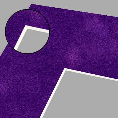 Suede Surface White Core Pre Cut Matting Boards