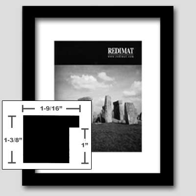 Redimat Redi Made Picture Frame Kits In Black Profile 12
