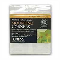 Lineco® Self-Adhesive Mounting Corners 1¼