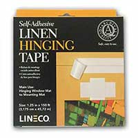 Lineco® Self-Adhesive Linen Hinging Tape